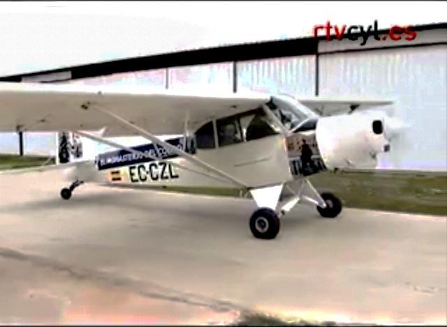 Avión de EL MONASTERIO DEL COBRO